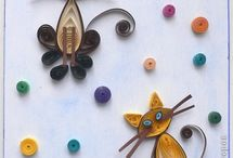 quilling   / learning how to quill  / by Mary Boucher