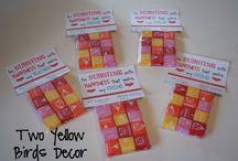School Valentine ideas / by Auschel Felt