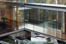 Glass houses / Houses with lots of big windows and open spaces / by Donna Piranha