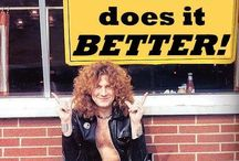 LOVE this man!! / My Robert Plant obsession  / by Debbie Hart