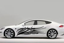 CAR SIDE VINYL DECAL GRAPHICS / by Karina _DecalsPlanet
