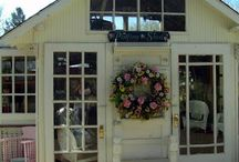 Garden sheds / by Tammy Hodges, Junk Situation