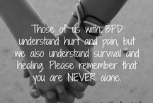 Living with BPD / by Melissa K. Nicholson, LMSW