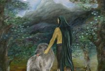 Characters of Ealiron / Writing makes me want to paint and draw things. Here are some of the characters in the Chronicles of Ealiron. Click on the images for more information. / by F.T. McKinstry