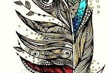 tattoos <3 / by Kayla Davis