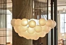 Glass Ball fixture ideas / by Judy
