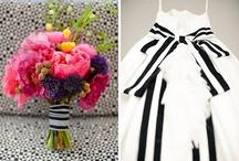 Black & White Wedding / {Black & White Wedding Colour Palette} / by Atelier Rousseau Bridal