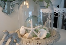 Decorate - Under Glass / I am intrigued by all the things you can display under glass  / by Angie Bradley