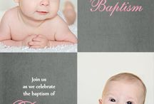 Printable Baptism & Christening invitations / by Greetings Island