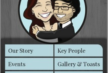 Custom Appy Couple Designs / Appy Couple makes custom designs for your app and website! Here are a few...  Interested in creating your own custom design? Email info@appycouple.com / by Appy Couple