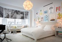 Home - Dear Daughter's Bedroom Inspiration / by Leigha Gruber