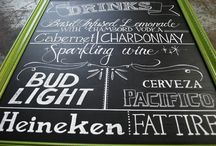 Chalkboards / by persnickety invitation studio
