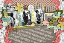 scrap booking / by Becca Sarvey