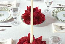 Centerpieces & table designs / by Tiffany Burgess
