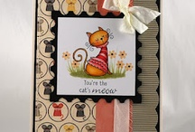 Cattitude / by There She Goes Clear Stamps