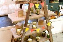 craft: booth set up ideas / by Meriah VanderWeide