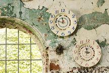 Decorating with clocks / by Anne Edenloff