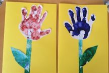 hand & footprint pictures / by Luann Gallegos