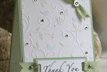 Cards Dry Embossing / by Vania May