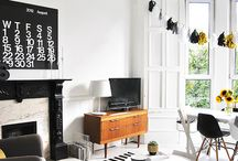 Black & White Decor / by The Decorated House ♛ Donna