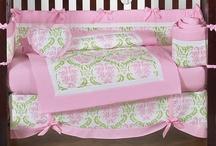 Crib bedding / by Donna Fuller