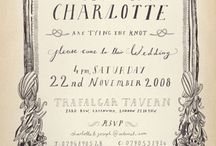 print inspiration and fun ideas for weddings / celebrations / by Kristin Rose