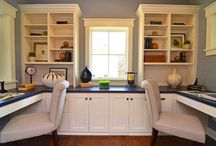 Mike's home office designs / by Heather Naegle