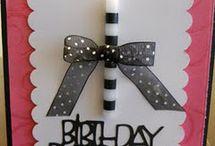 Cards (Birthday) / by Vickie Tagatz