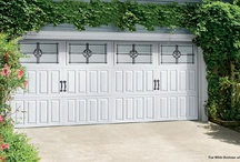 Amarr Classica Carriage House Garage Doors / Featured beginning in June 2013, these are several examples of just the Carriage House style doors.  Savings of over 25% are available on the Models 1000 and 2000 beginning this month.  If you are in the San Antonio, TX area, we would love to assist you. / by Hollywood-Crawford Door Company