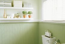 bathroom ideas / by Cheryl Schell