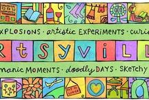 Super cool art blogs / by Heather Martin