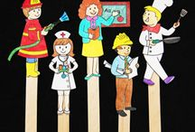 Preschool- Community Helpers / by Angela Ludens Reindl