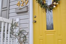 Exterior House Colors / by Lindsay Conner