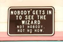 Wizard of Oz / by Nina Beatty