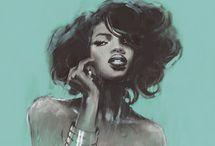 Black Beauty / by Shiya Elle