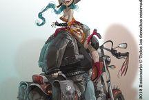 Dibujos, ilustración, animación / by Isabel Huerta