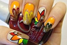 Nail Art - Fall/Thanksgiving / by The BeautyClutch