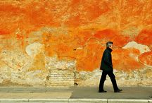 Orange Inspiration / orange - the color of hope / by Tina Anderson