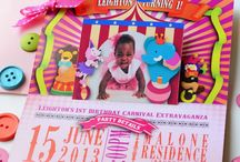 Birthdays and Showers / Beyond Wedding Invitations, Noteworthy events, invitations made by us. / by April Twenty Five