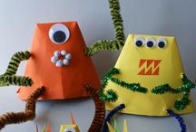 Monster Theme / by Homeschool Creations