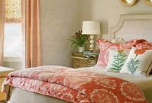 Gray, taupe & coral / by Danette Dillon