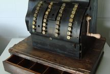 Old cash registers / by Kathy Murphy