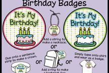 Birthdays / by Tosha Cain