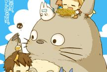totoro and friends / by Amy M