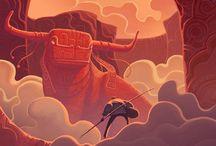 Illustrative Atmopheres / by Justin Mezzell