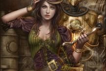 ★ Fantasy ★ Steampunk / by Heather Reid