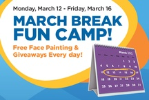 March Break Fun Camp! / Free face painting and giveaways everyday! Go here http://billingsbridge.com/ to get all the details!