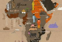 map of africa / by downchann