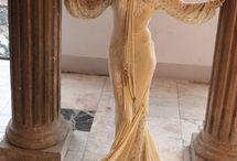 Vintage Wedding Gowns  / by oldsmocksnewfrocks