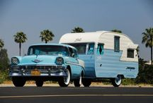 Travel Trailer Dreams / Vintage Camp Trailers / by Shirley Mullen
